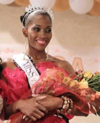 MISS AFRICA USA 2011-12 GHYSLAINE TCHOUAGA